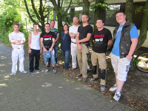 Maler Bochum auftakt in bochum workers for europe